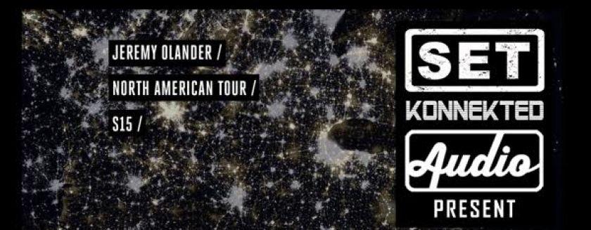 Cartel del evento Jeremy Olander