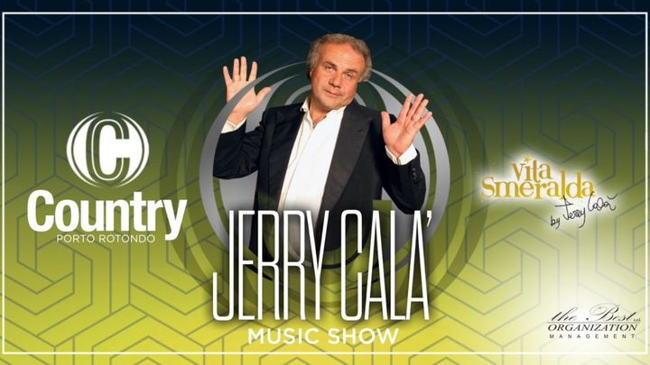 Cover for event: Jerry Cala - Vita Smeralda - Country Club