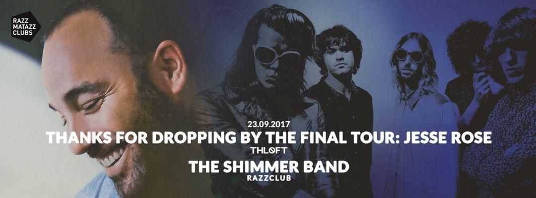 Cartel del evento Jesse Rose @ The Loft & The Shimmer Band @ Razzclub