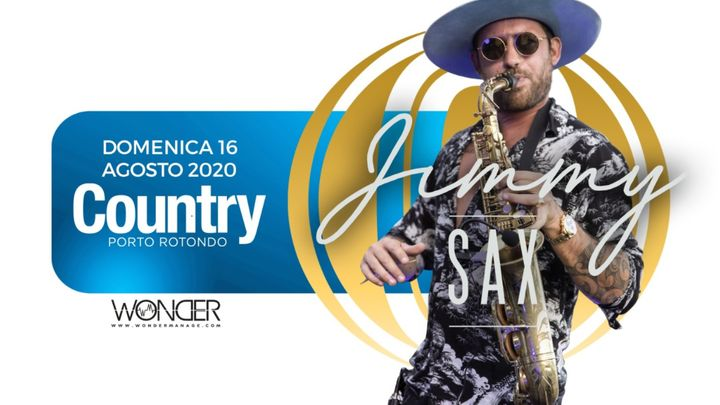 Cover for event: Jimmy Sax | Country Club