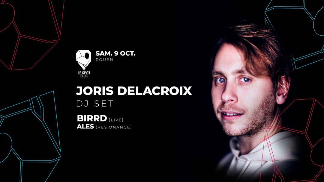 JORIS DELACROIX (HUNGRY MUSIC) + Birrd + Ales event cover