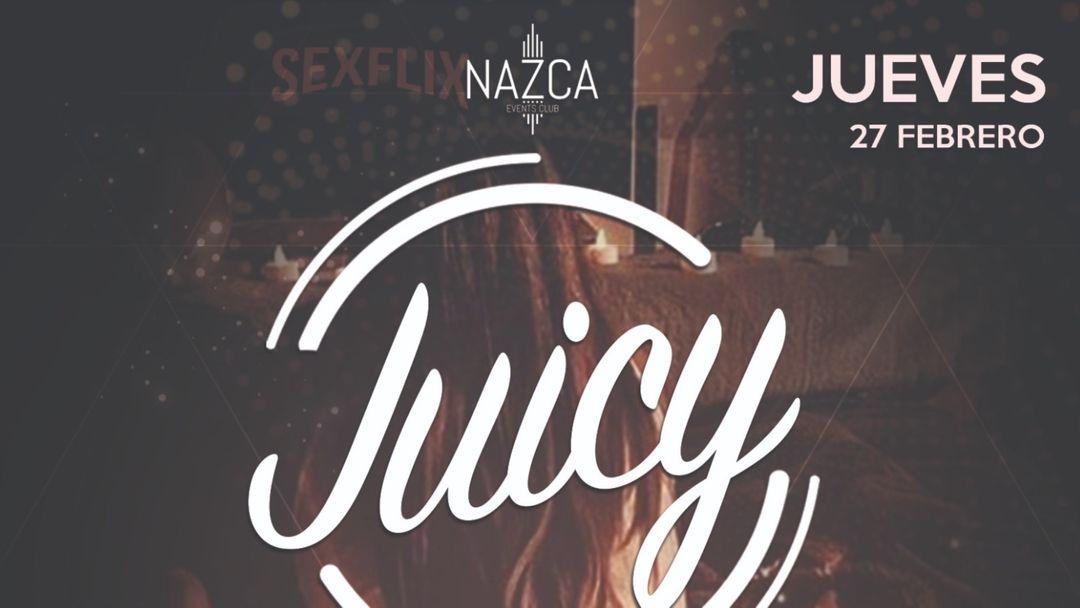 JUICY jueves 27 febrero event cover
