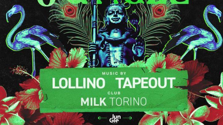 Cover for event: Jungle @ Milk Torino - Sabato 30 Ottobre