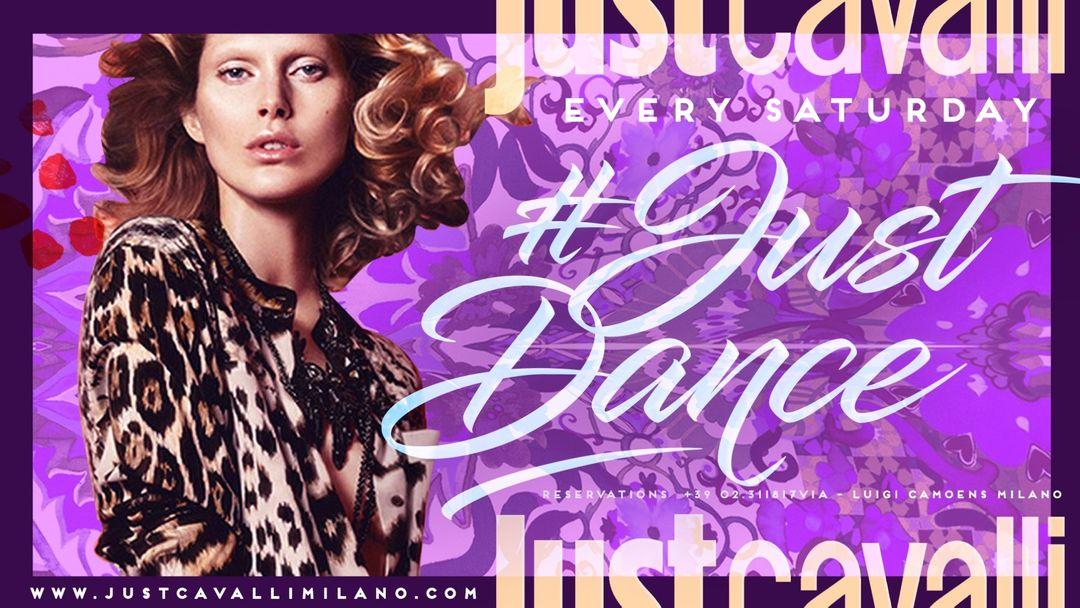 Cartel del evento JUST DANCE - SATURDAY NIGHT