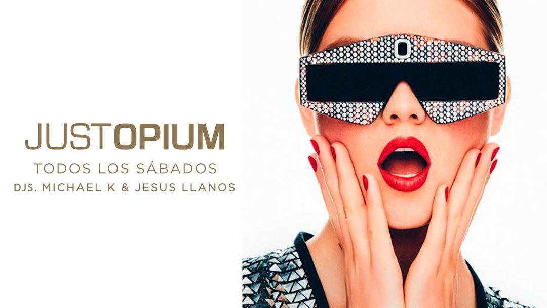 Just Opium-Eventplakat