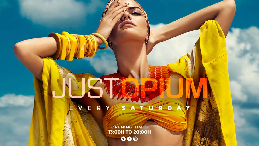Just Opium by Day event cover
