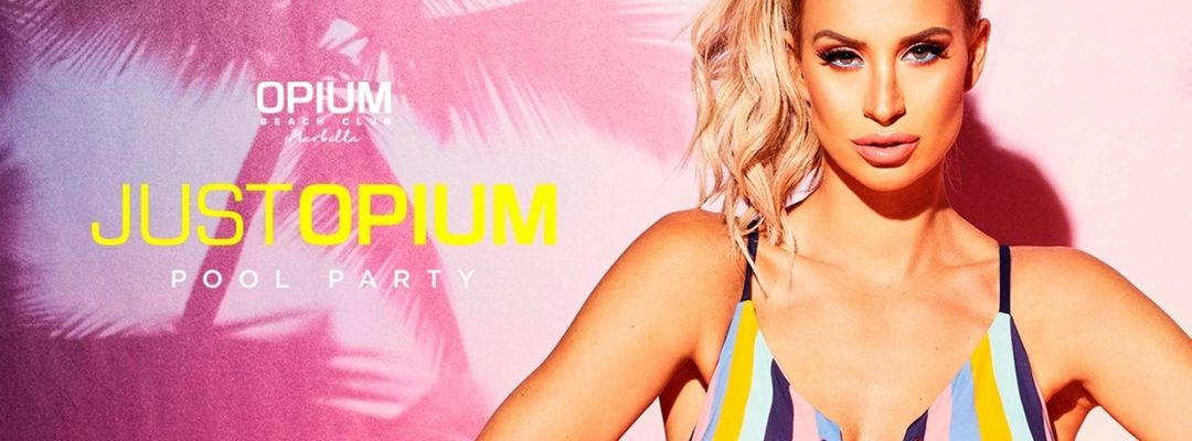 Just Opium / Pool Party event cover