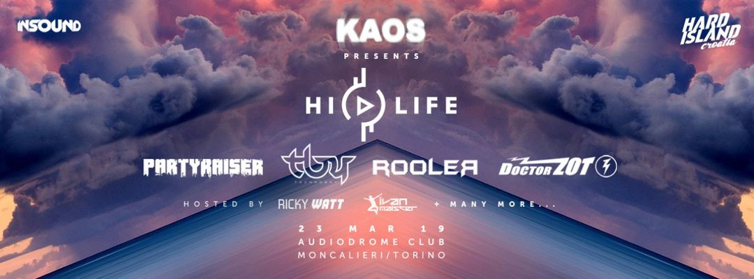 K A O S presents HI LIFE in Italy event cover