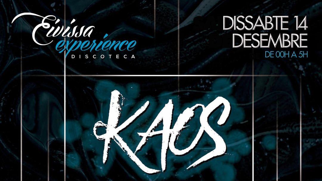 Cartel del evento KAOS
