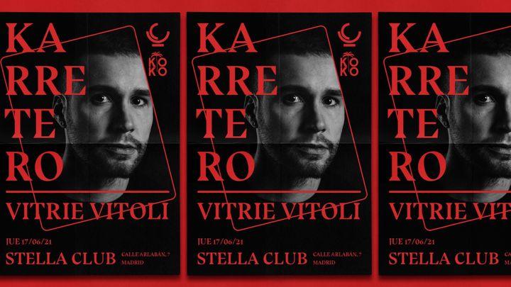 Cover for event: Karretero [] Upper Club · Koko