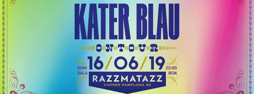 Cartel del evento Kater Blau showcase at Razzmatazz (Offweek)