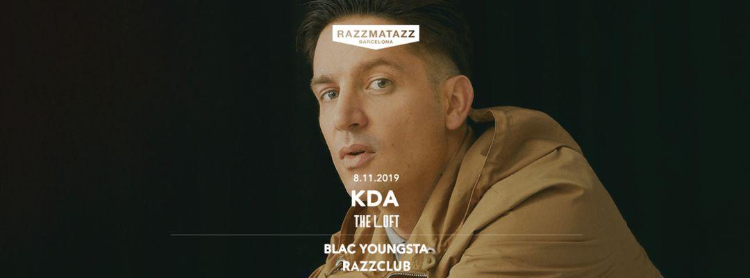 Cartel del evento KDA @ The Loft & Fuego w/ Blac Youngsta @ Razzclub