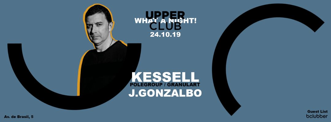 Cartel del evento KESSELL . J. Gonzalbo