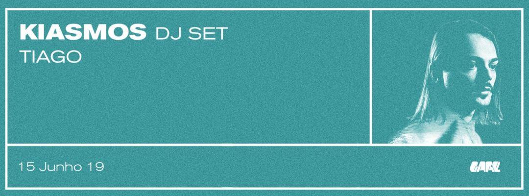 Kiasmos DJ set event cover