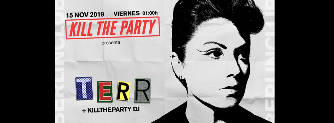 killtheparty presents: Terr event cover