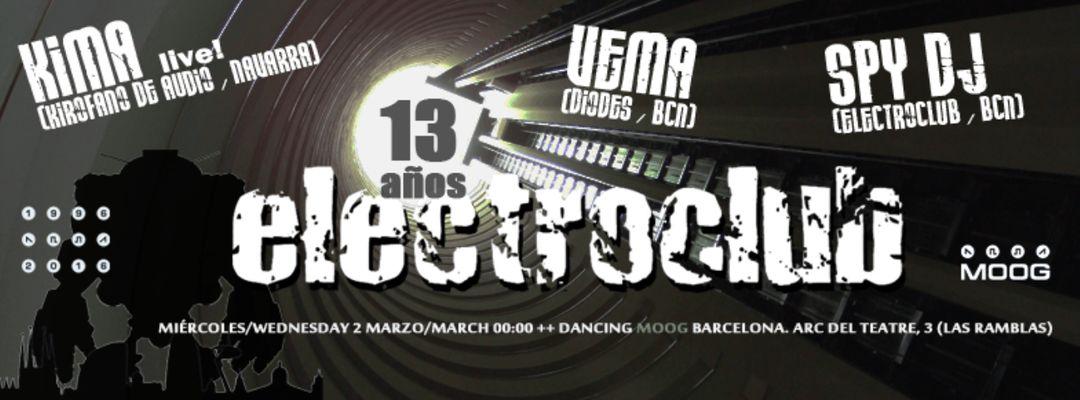 Cartel del evento Kima live! with Vema & Spy DJ