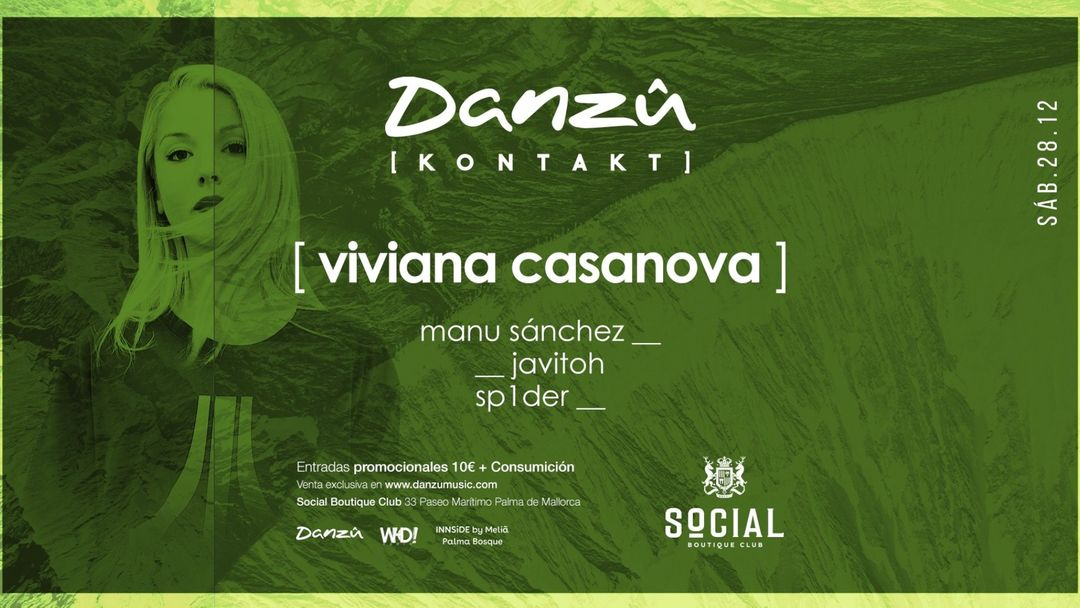 Copertina evento Kontakt at Social Clug presents: Viviana Casanova