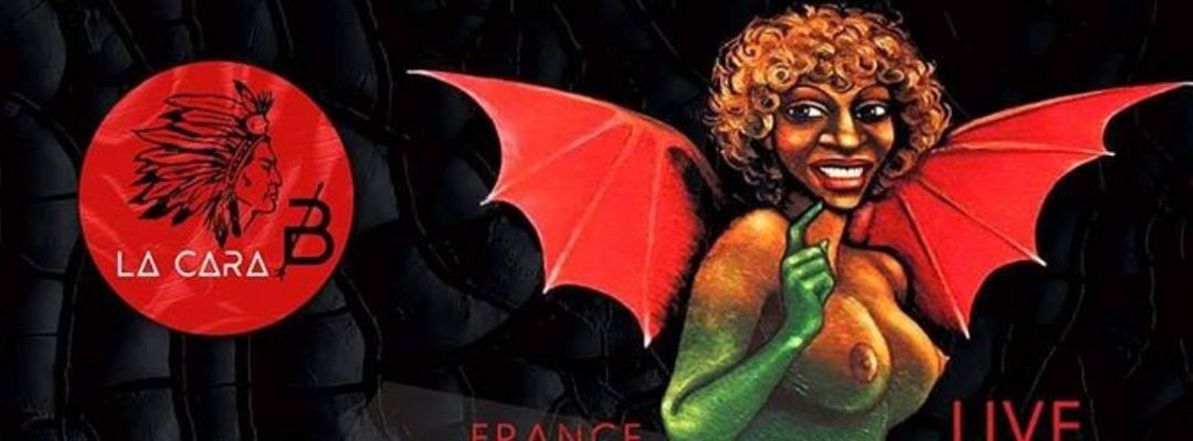 Cartel del evento La Cara B presenta: Black Devil Disco Club, Ohmios Records Sound System, Manglés