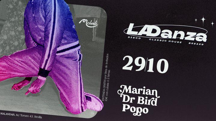 Cover for event: La Danza con Marian, Popo & Dr Bird