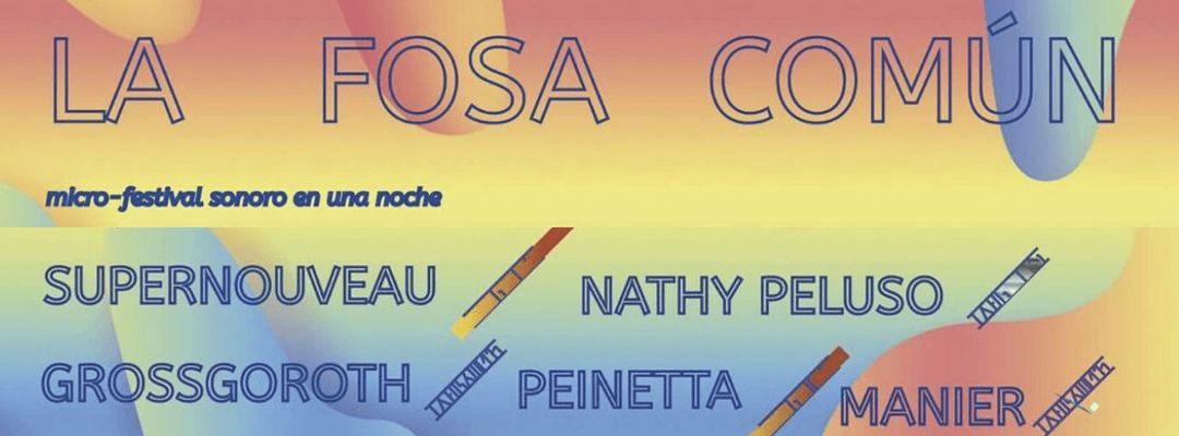 Cartel del evento LA FOSA COMÚN - microfestival sonoro