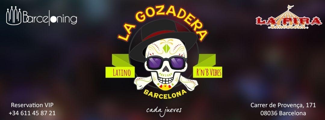 Couverture de l'événement La Gozadera - Fiesta Latina #FREE