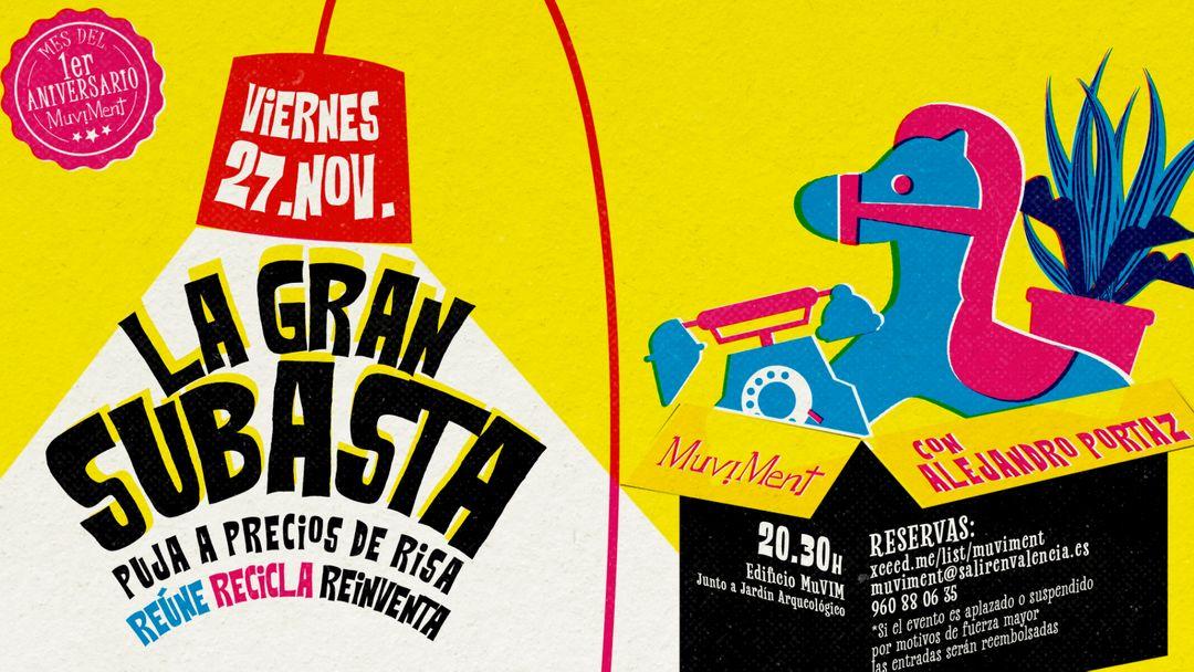 La Gran Subasta con Alejandro Portaz event cover