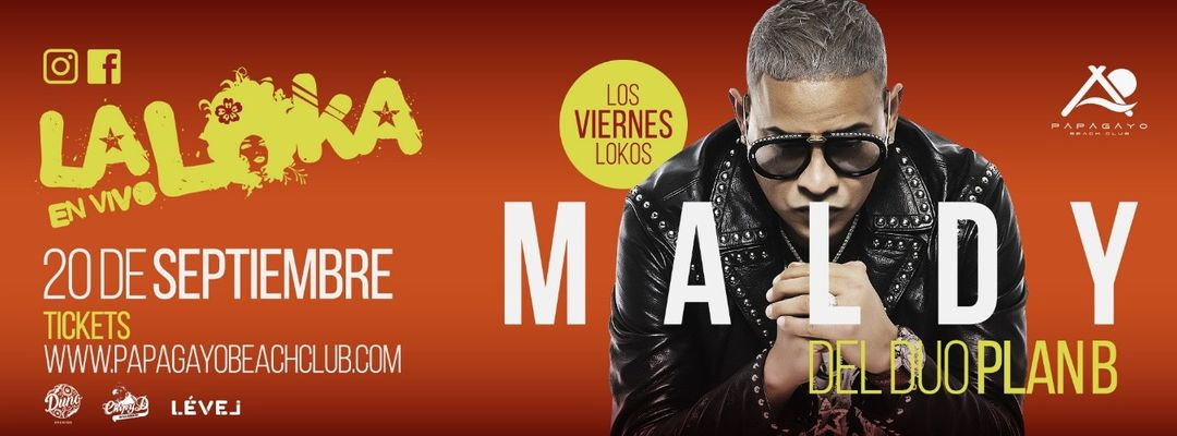 'La Loka en vivo' con Maldy event cover