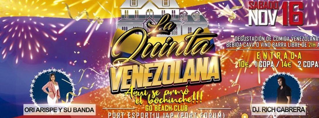 LA QUINTA VENEZOLANA event cover