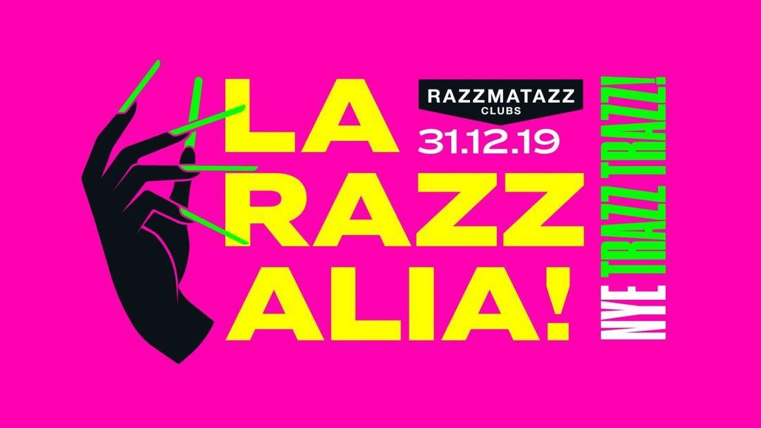 Capa do evento LA RAZZALIA! - New Year's Eve!