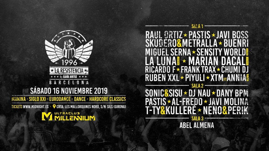 LA RESISTENCIA event cover