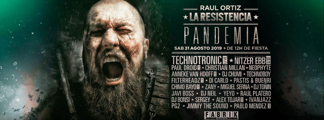 Cartel del evento La Resistencia: Pandemia