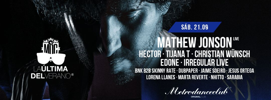 La última de verano :: MetroDanceClub :: 21 SEPT event cover