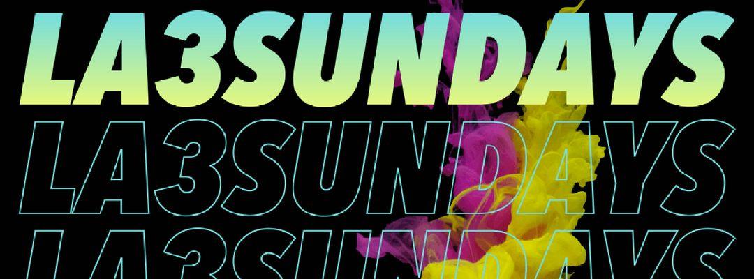 Cartell de l'esdeveniment La3 House Sundays