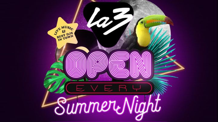 Cover for event: LA3 LEGENDS: EVERY SATURDAY ALL NIGHT LONG