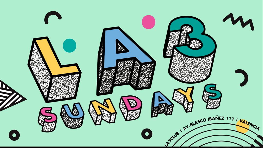 La3 Sundays: House & International Hits event cover