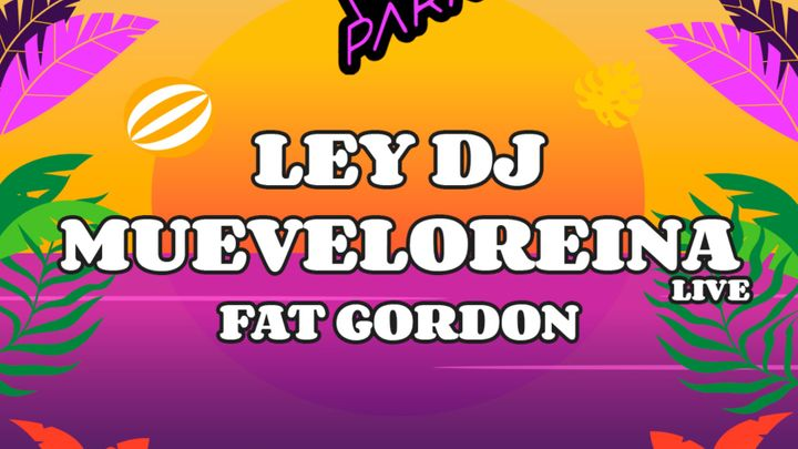 Cover for event: La3Park: Ley Dj + Muevelo Reina