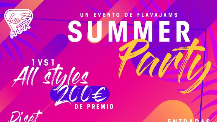Cover for event: La3Park - Summer Party by FlavaJams