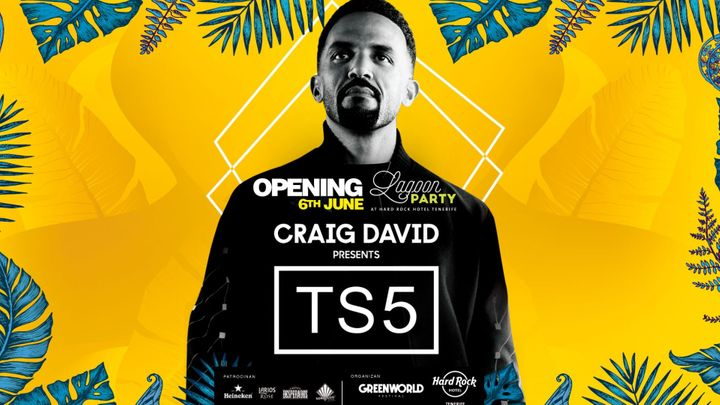 Cover for event: Lagoon Party | Opening 2020 - TS5 w/ Craig David