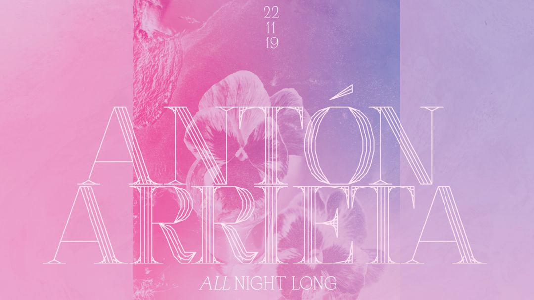 Copertina evento Lanna Club presenta Antón Arrieta all night long.