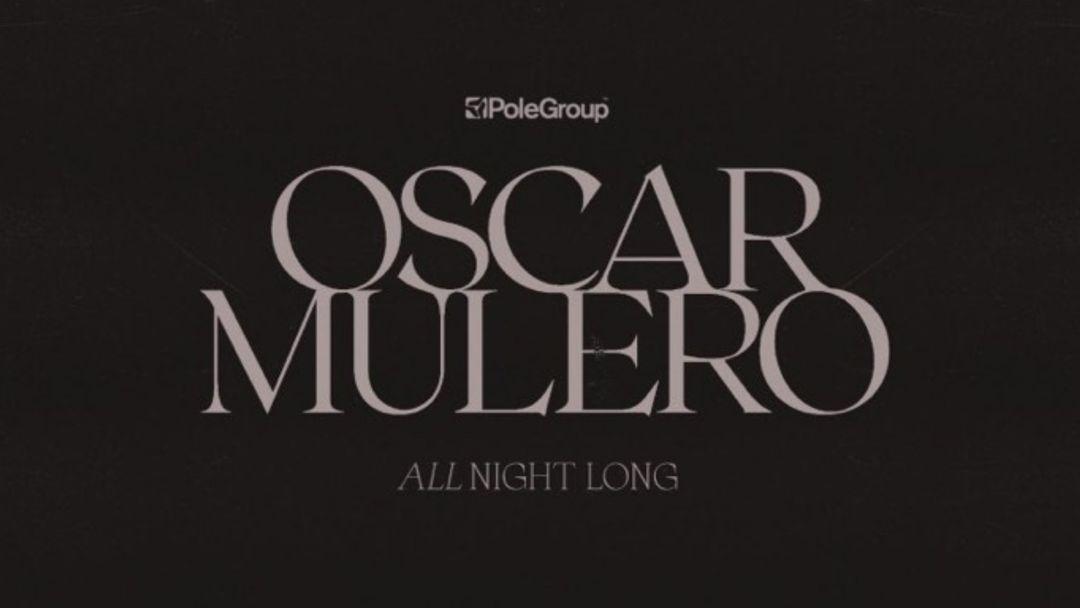 Cartel del evento Lanna Club presenta Oscar Mulero all night long.