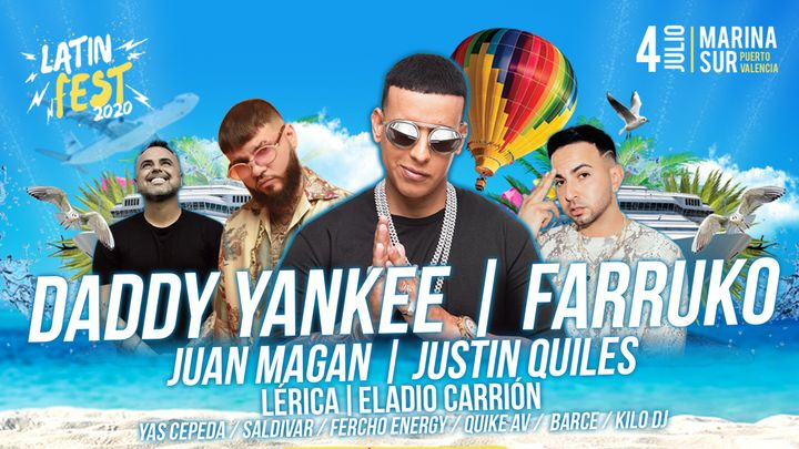 Cover for event: Latin Fest 2021 *NUEVA FECHA*