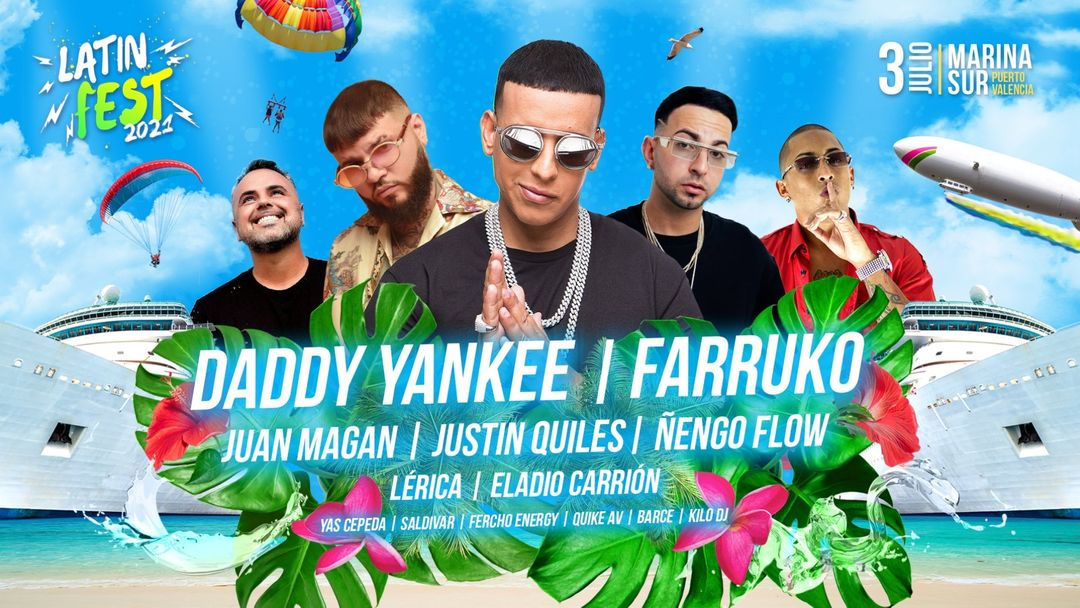 Latin Fest 2021 - Daddy Yankee & Farruko event cover