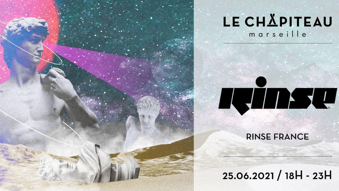 Couverture de l'événement Le Chapiteau VS RINSE France - w/ AES