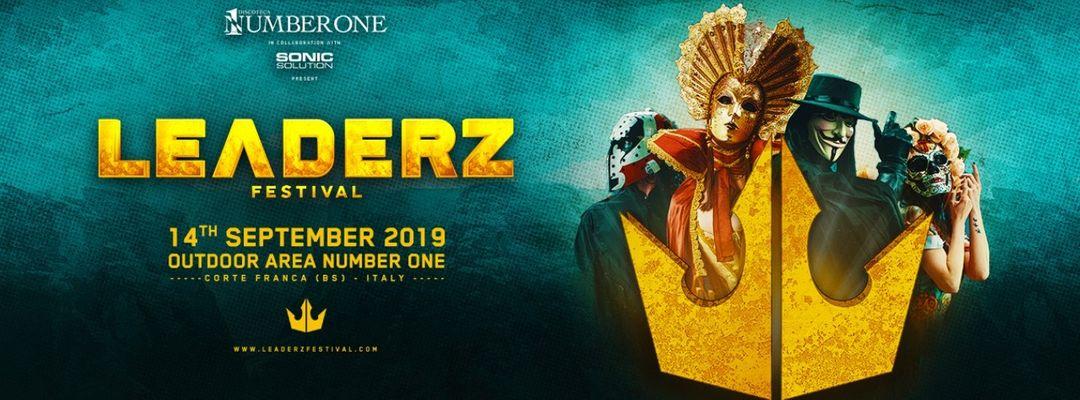 Cartel del evento Leaderz Festival