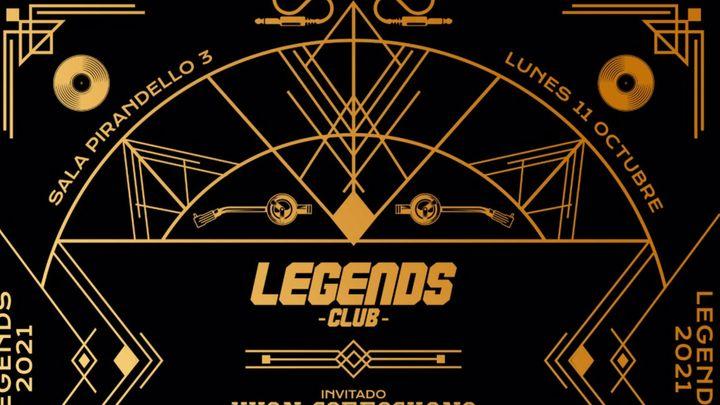 Cover for event: LEGENDS LUNES 11 OCTUBRE