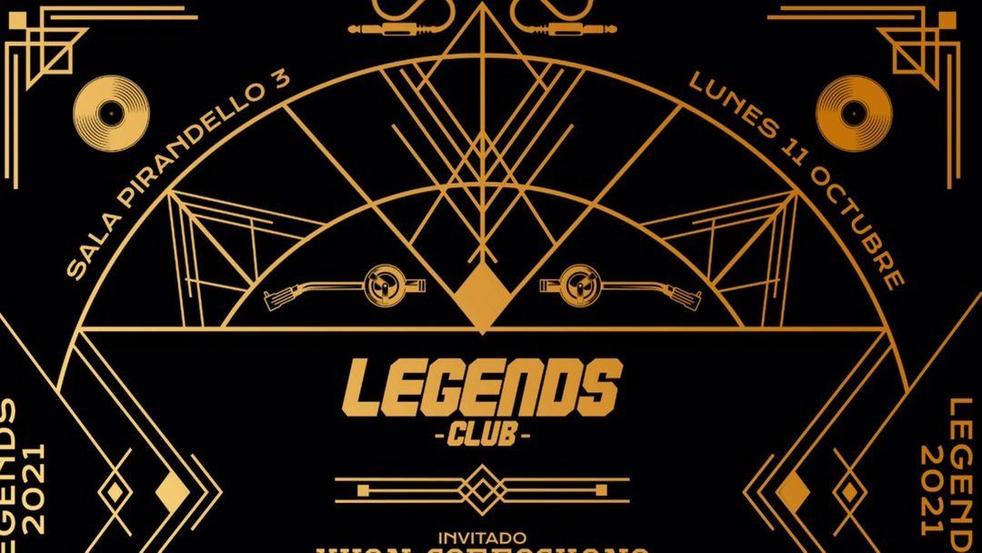LEGENDS LUNES 11 OCTUBRE event cover