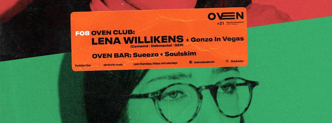 Cartel del evento LENA WILLIKENS + GONZO IN VEGAS