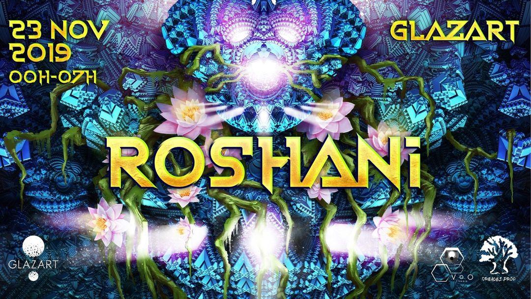 Cartel del evento Les Nuits Oréades: Roshani