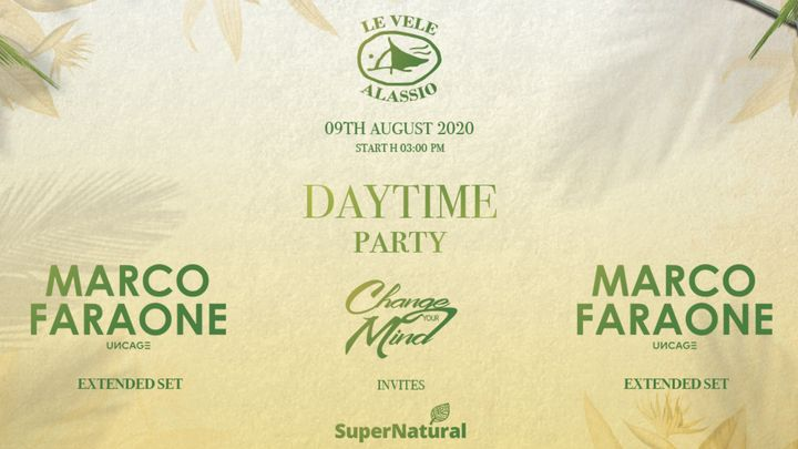 Cover for event: LeVele DaytimeParty ChangeYourMind SuperNatural Marco Faraone