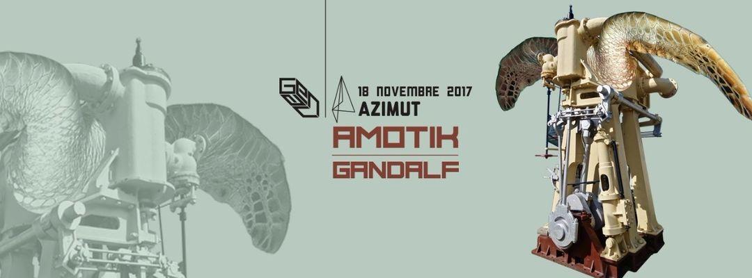 LOFT pres. Amotik (Figure - Amotik) at Azimut event cover